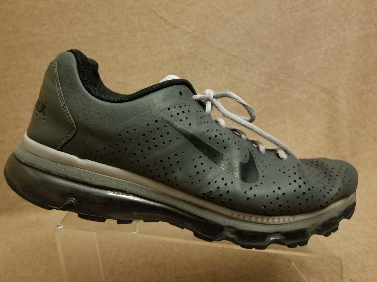 Nike air air air max 456325-010 uomini scarpe di pelle grigia athletic sport scorpe 13 | Qualità Superiore  97859b