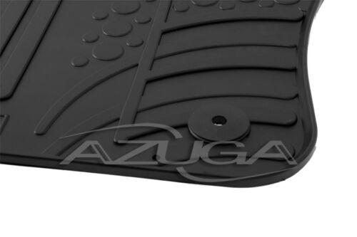 Design Gummimatten für Seat Ateca ab 2016 inkl Clips Gummi-Fußmatten Automatten