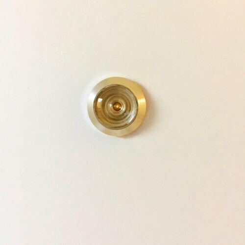 Spion 35-65mm Sichtwinkel bis 200° Türsicherung Türspion Messing