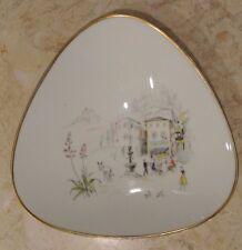 "Hutschenreuther Self Diadem ""Trattoria"" Triangular Bowl"
