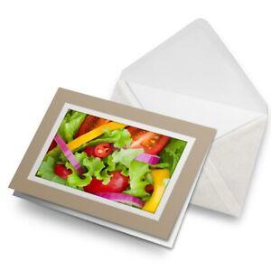 Greetings-Card-Biege-Healthy-Vegetable-Salad-Food-Cool-8481