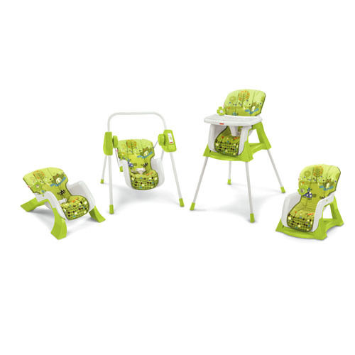 FISHER PRICE EZ BUNGLE SWING HIGH CHAIR + TECH 4 IN 1 SNAP-FIT TECH + T3643  NEW 6f70bb
