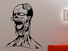 Zombie Wall Decal The Walking Dead Vinyl Sticker Undead Scary Art Horror Decor 1