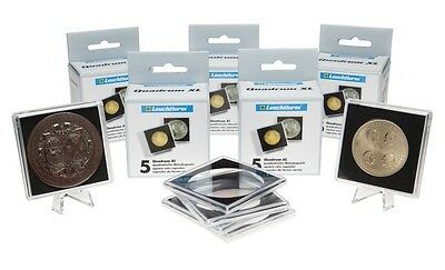 Coins holders 22,5 mm Coins Collection Holders for stapling Leuchtturm 336002