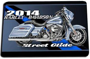 Image Is Loading 2016 Harley Davidson Street Glide Door Mat Rug