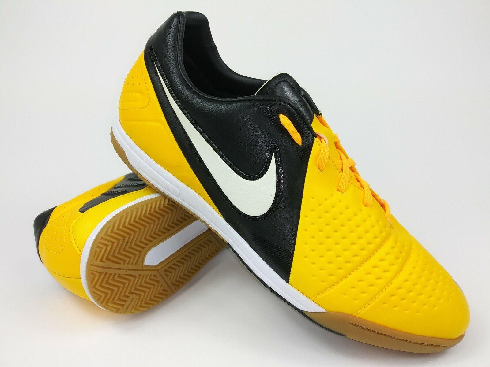 Nike Hombre Raro CTR360 Libretto Lll Ic 525171-810 Negro Amarillo Fútbol Zapatos
