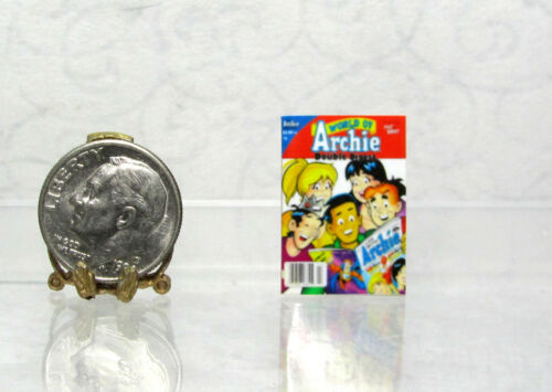 Dollhouse Miniature ARCHIE thin non-opening  Comic Book