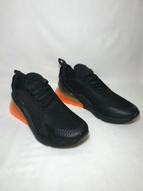 "Nike Air Max 270 ""Total Orange"" Men's Size 6 BLACKBLACK TOTAL ORANGE AH8050 008"