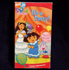 Nick Jr. Dora the Explorer ~ Its A Party  (VHS)