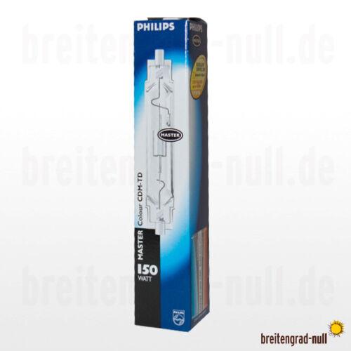 Philips Master Colour CDM-TD 150 Watt RX7s 830 WDL NEU für HCI-TS HQI Strahler