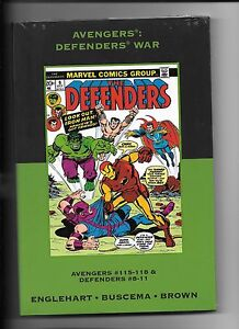 Marvel Premiere Classic volume 6 sealed hardcover Avengers: Defenders War 115