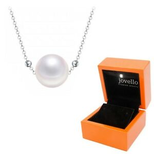 Perlen-Kette-Halskette-aus-925-Silber-mit-7mm-Perle-exklusive-LED-Holzbox