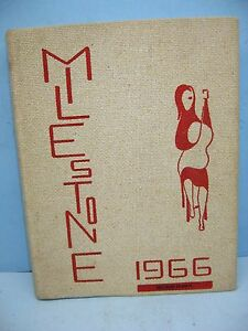 Details about 1966 Milestone, West Essex High School, North Caldwell, New  Jersey Yearbook