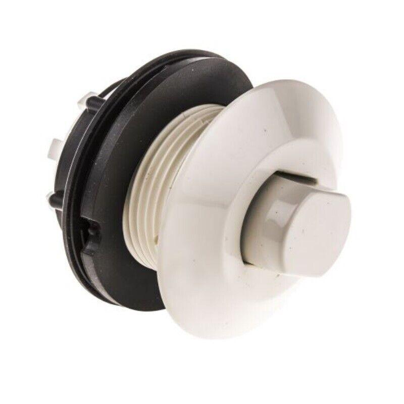 Pulsante pneumatico bianco per piscina idromassaggio pompa tritarifiuti