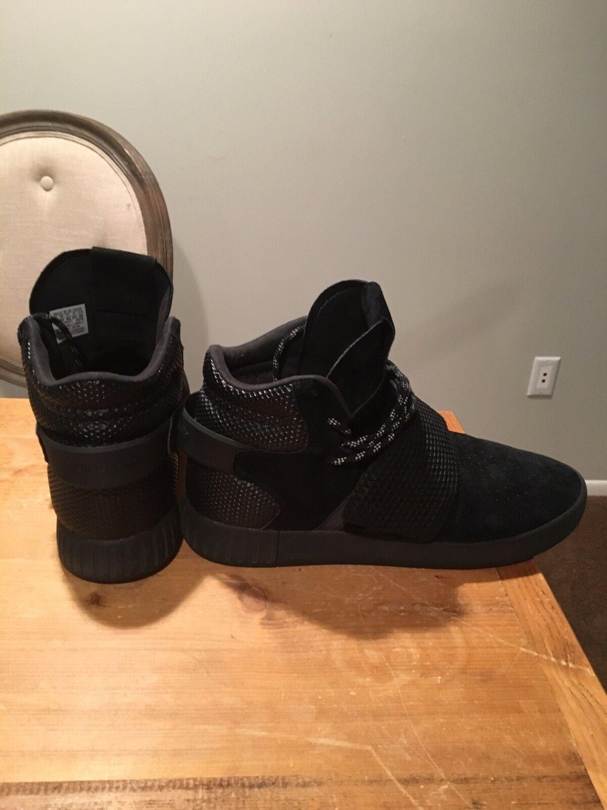 Adidas Tubular High all Black