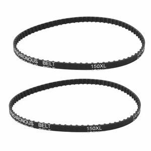 "2PC Cog Geared Belt 150XL037 4 x 36 6/"" fit WEN 6502  Disc Sander"