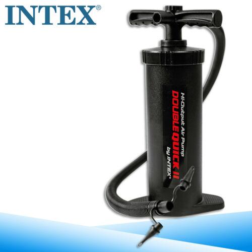Intex piston-DOPPELHUB-Pompe 37 cm matelas gonflable bateau gonflable pompe à air SUP