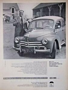 PUBLICITE-DE-PRESSE-1959-LA-RENAULT-4-CV-LA-VOITURE-LA-MOINS-CHERE-DE-FRANCE