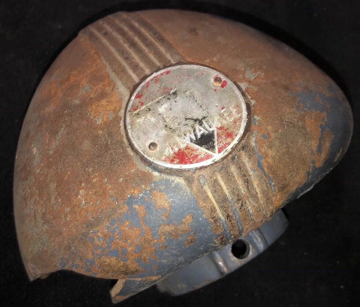 VINTAGE Delta Milwaukee DP 220 Drill Press Pulley Guard. Circa 1930-1940. Our  2