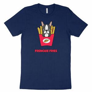 Frenchie-Fries-French-Bulldog-France-Dog-Cute-Kawaii-Funny-Shirt-Unisex-T-Shirt
