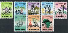 Rwanda 1978 MNH Scout Association 10th Anniv 8v Set Baden-Powell Scouting Stamps