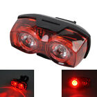 3 Mode 2 Red LED Bicycle Bike Rear Light Safety Warning Flashing Tail Light