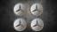 Original-Mercedes-Radnabendeckel-Felgendeckel-Nabendeckel-Barockfelgen-NEU Indexbild 1