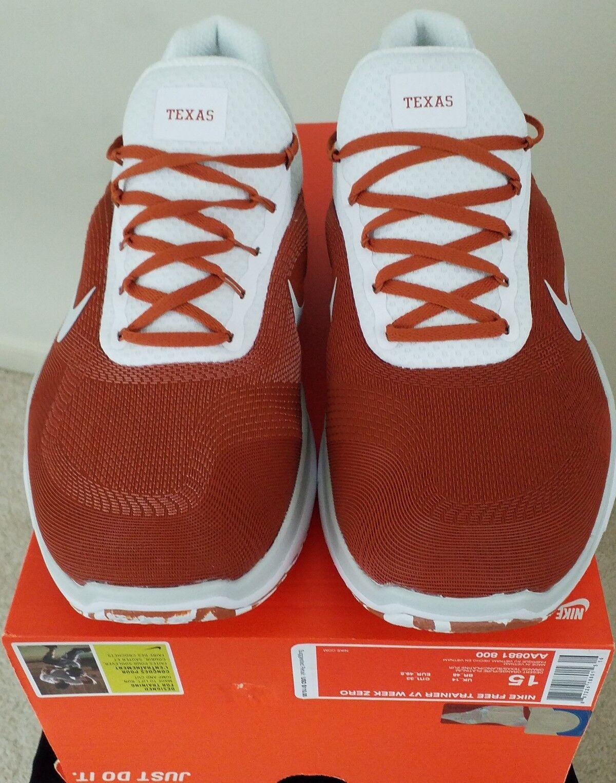 TEXAS LONGHORNS UT Week Nike Free Trainer V7 Week UT UT UT Zero chaussures 036cf4