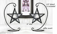 10 Black Moroccan Star 13 Candle Holder Lantern Light Wedding Table Centerpiece