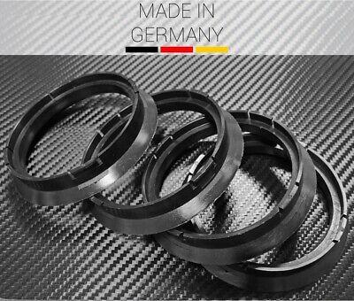 4 pezzi anelli di centraggio 72.5 a 65.1 BIANCO//WHITE