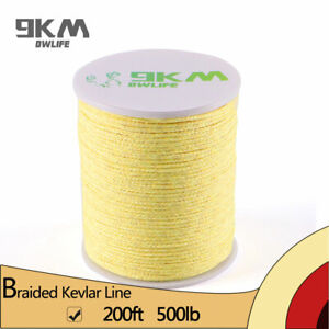 Braided-Kevlar-Line-500lb-60m-Camping-Rocketry-Rope-Assist-Line-Made-with-Kevlar