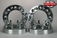4 Pc 8 Lug Dodge Ram 2500 Wheel Spacers 8x6.5 To 8x6.5 2 9/16-18 Studs