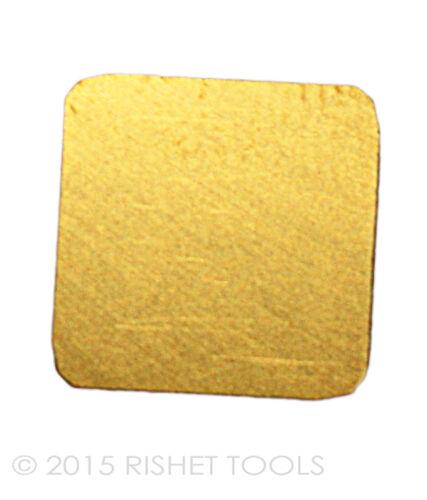 SPKN 1203 EDR TiN Coated Carbide Inserts RISHET TOOLS SPKN 42 EDR 10 PCS