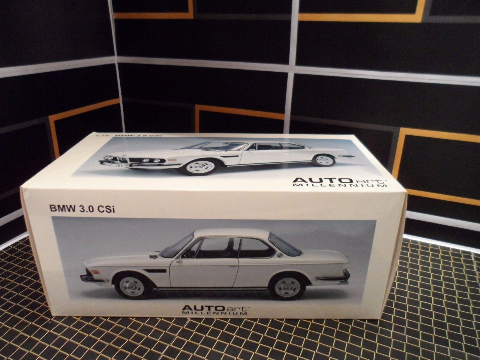 AUTOart BMW BMW BMW 3.0 CSI  E9 1 18 White 3c7767