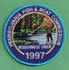 Pa pennsylvania fish commission 1997 neshannock creek 4 for Pa boat and fish commission