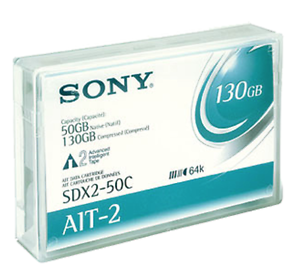 SDX250C////AWW Sony AIT-2 50 GB