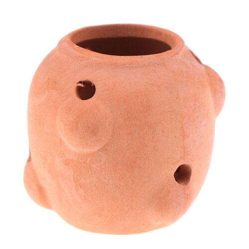 1Pcs 1//12 Dollhouse Miniature Accessories Ceramic Flowerpot Simulation Furnit xg