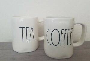 NEW-RAE-DUNN-by-Magenta-TEA-and-COFFEE-Mugs-Farmhouse-Cottage-Home-Kitchen-Decor