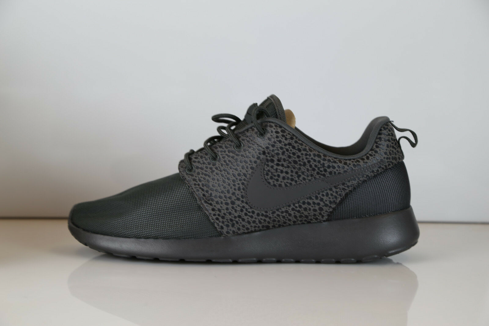 Nike Roshe Run Premium Safari Midnight Fog Black 525234-001 10  rosherun 1 free