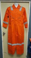 Walls Orange High Visibility Work Coveralls Size 42-short