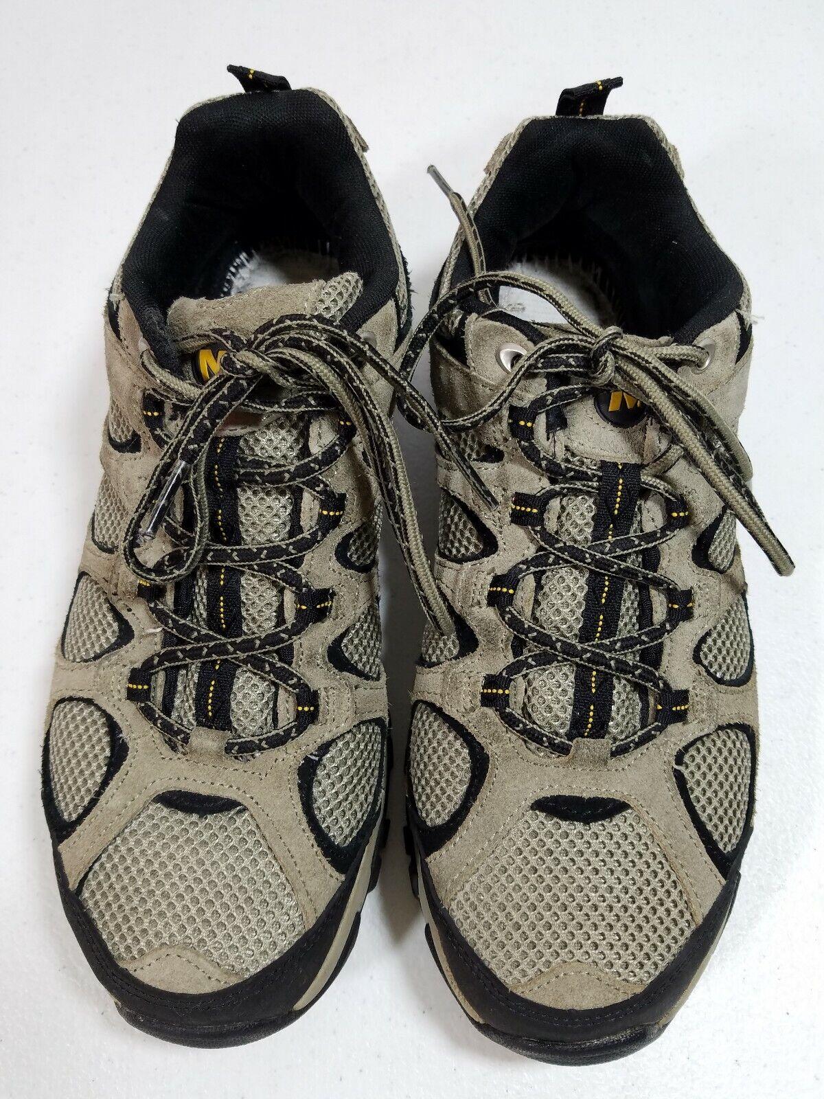 Merrell Hilltop Ventilator Mens Brown Hiking shoes Size 8