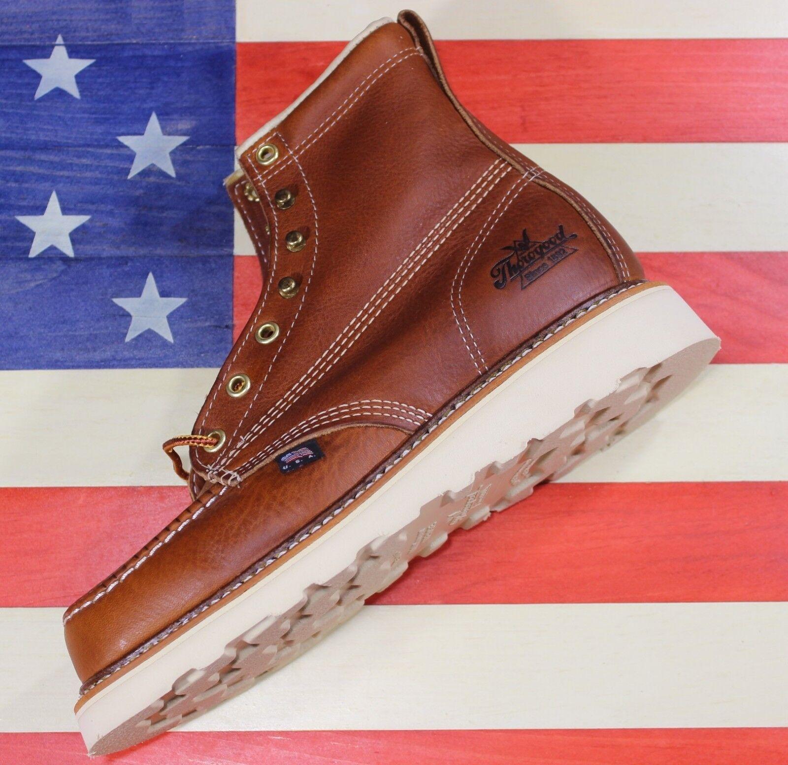 Thorogood Thorogood Thorogood American Heritage Cuña De Mujer Suave 6  - Toe botas De Trabajo 514-4200 Usa Made  el precio más bajo