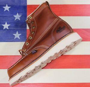 Thorogood-Womens-6-034-American-Heritage-Wedge-Soft-Toe-Work-Boot-514-4200-USA-MADE