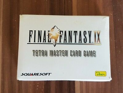 Final Fantasy IX 9 Tetra Master Card Game RAR!