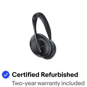 Bose Noise Cancelling Headphones 700, Certified Refurbished