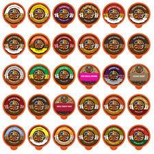 Crazy Cups Flavored Coffee Single Serve Cups for Keurig K Cups Sampler 30-count