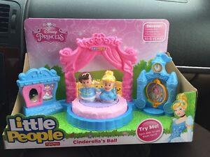 Image Is Loading Fisher Price Little People Disney Princess Cinderella 039