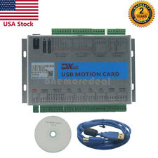 Hot Mach4 Cnc 4 Axis Motion Control Card Usb 2mhz Breakout Board For Machine Us