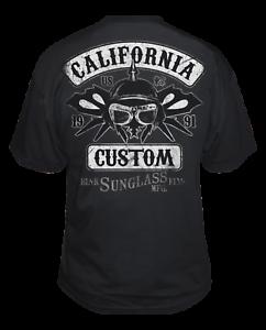 NEW Black Flys CALIFORNIA CUSTOM Tee Shirt BLACK SMALL-3XLARGE LIMITED RELEASE