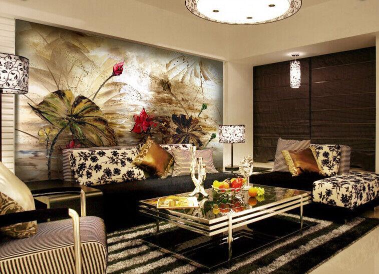 3D Art Lotus Style 886 Wall Paper Murals Wall Print Wall Wallpaper Mural AU Kyra